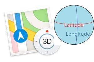 Saisir des coordonnées GPS sur iPhone avec Plans ou Maps tutoriel