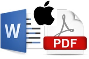 convertire un document pdf en word