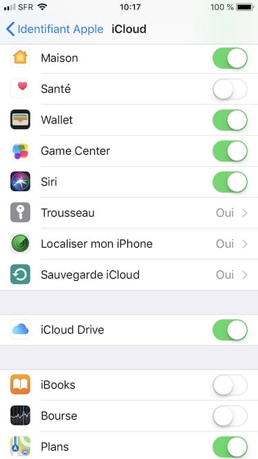 Reinitialiser son iPhone sauvegarde icloud