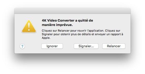 Utiliser macOS High Sierra en 64-bits app 32 bits ne fonctionneront plus