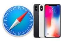 Vider le cache de Safari iPhone (historique, cache, cookies)