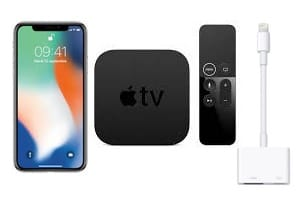 Connecter son iPhone a la TV avec ou sans fil