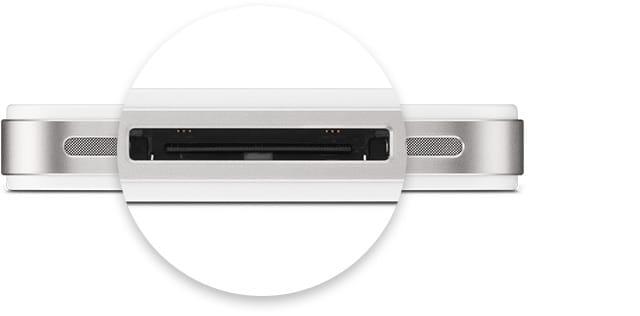 Connecter son iPhone a la TV avec un adaptateur 30 broches