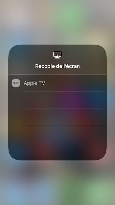 Connecter son iPhone a son Apple TV