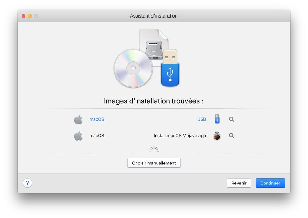 Installer macOS Mojave avec Parallels Desktop cle usb bootable ou fichier install