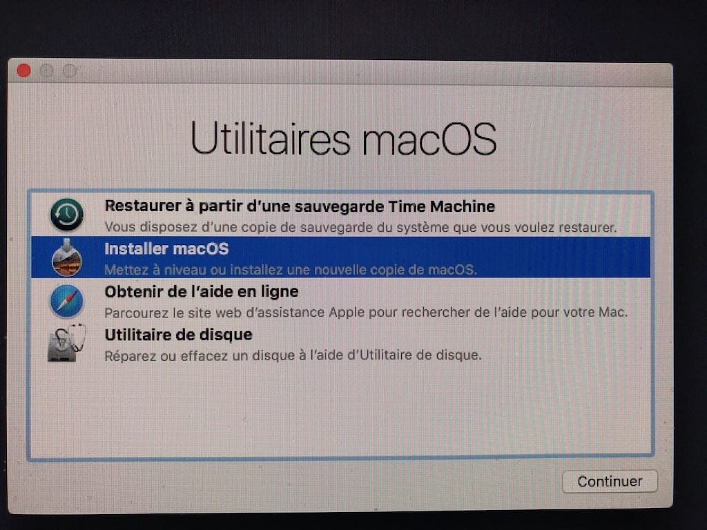 Downgrade macOS Mojave macos High Sierra installer macOS High Sierra a nouveau