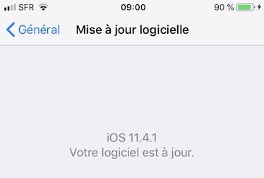 ios 11.4.1 mise a jour iphone