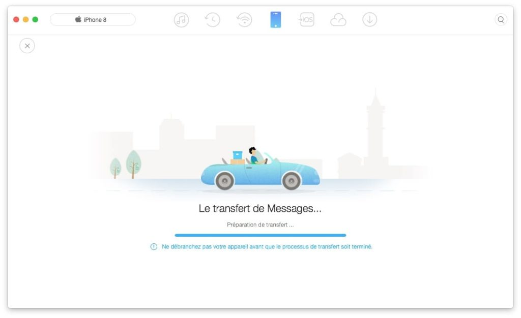 Sauvegarder les Messages de son iPhone transfert de Messages