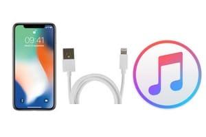 Une mise à jour logicielle est requise pour se connecter à votre iPhone