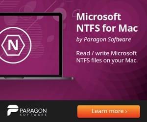 NTFS macOS Mojave configurer