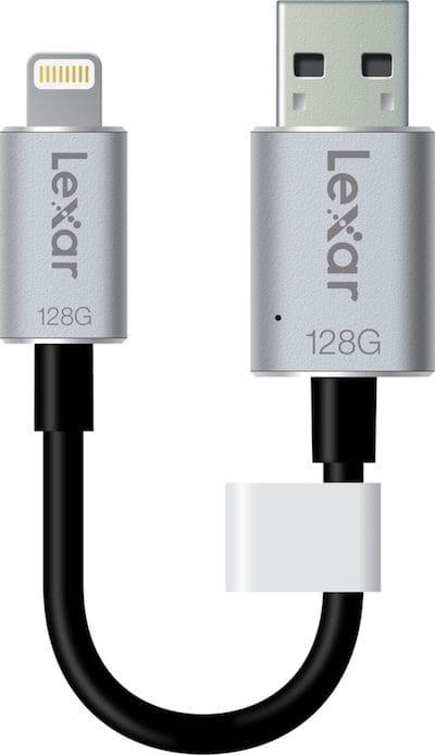 Brancher une cle USB sur un iPhone cle usb lightning