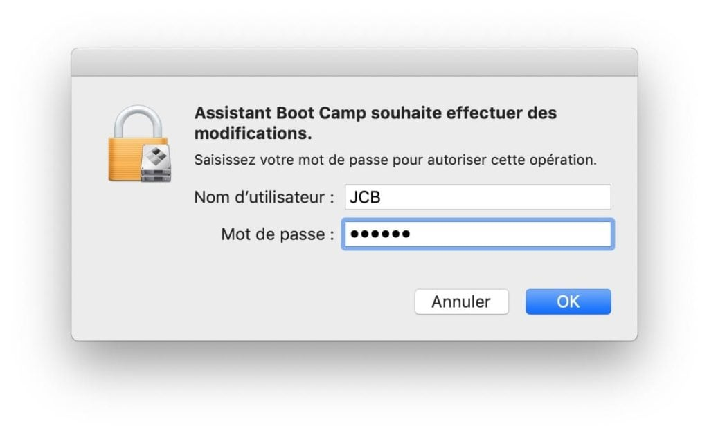 Dual boot macOS Mojave Windows 10 Assistant boot camp