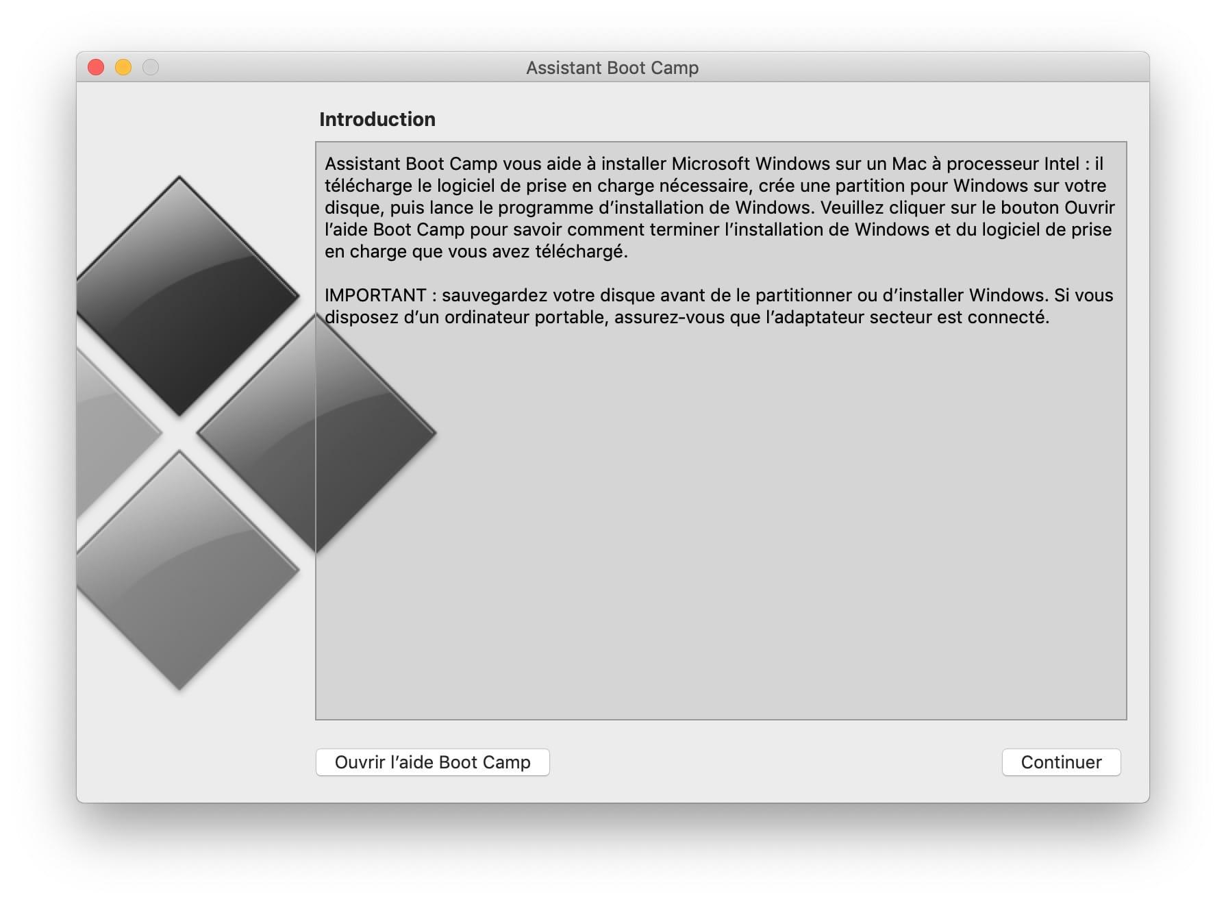 Dual Boot Macos Mojave Windows 10 Boot Camp Mode D Emploi