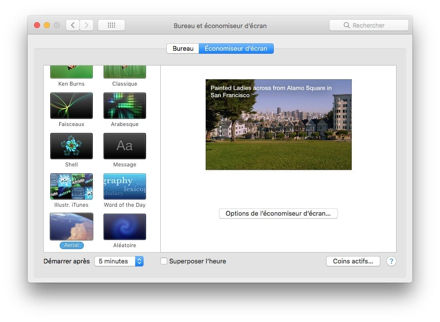 Installer Apple TV Aerial sur Mac activer
