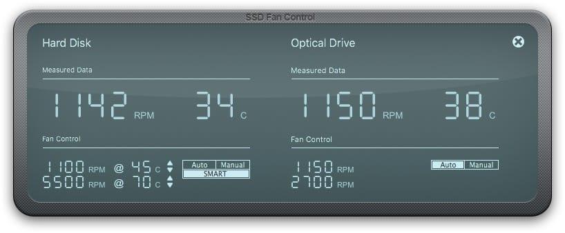 SSD Fan control iMac ventilateur bruyant