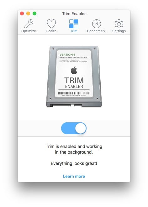 activer le TRIM Mac