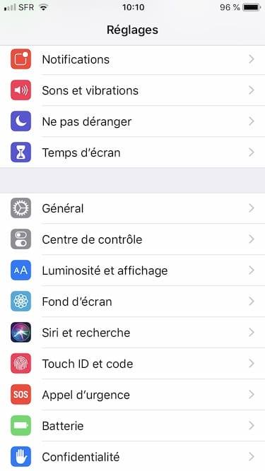 changer la voix de siri sur Apple iPhone