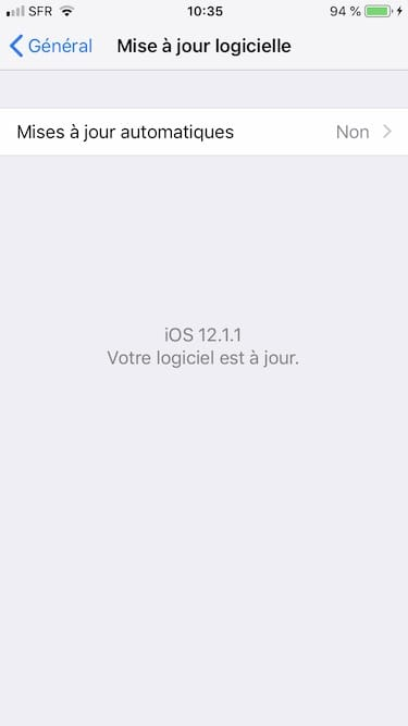 ios 12.1.1 mise a jour manuelle iphone