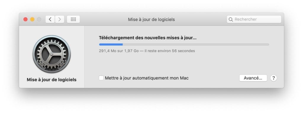 macOS Mojave 10.14.3 telecharger sur Mac