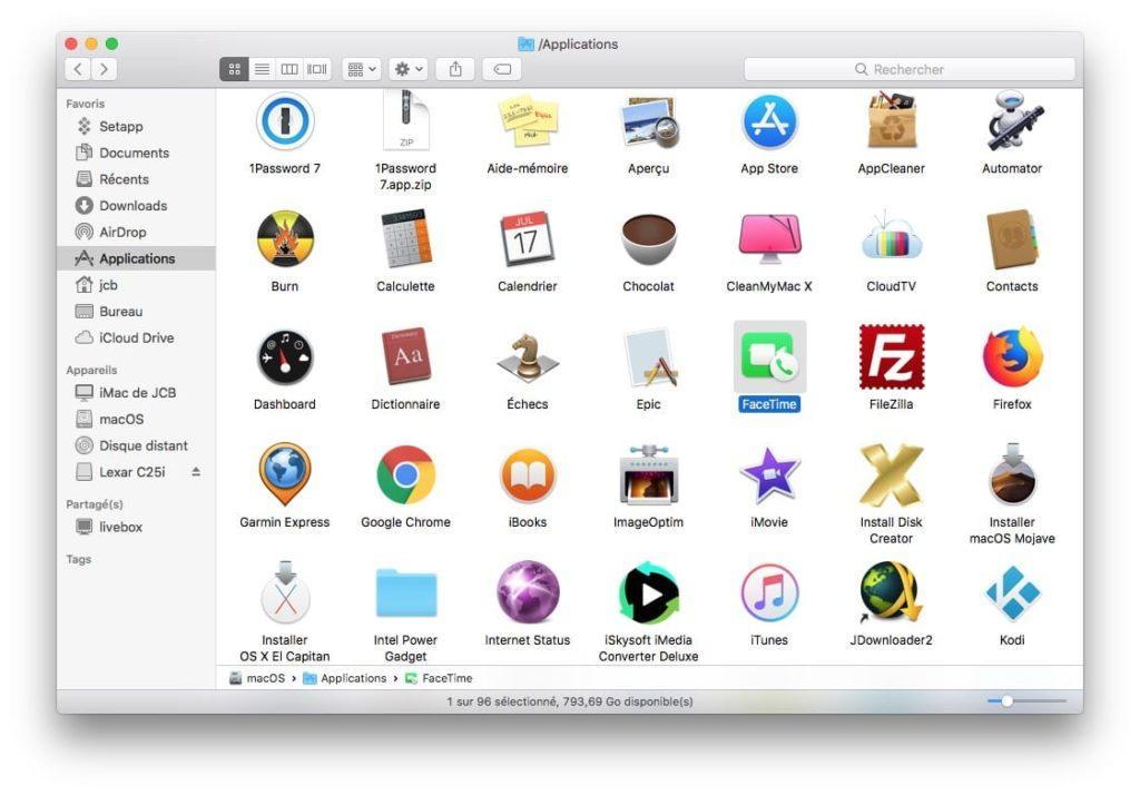 Prendre une Live Photo dans FaceTime sur Mac