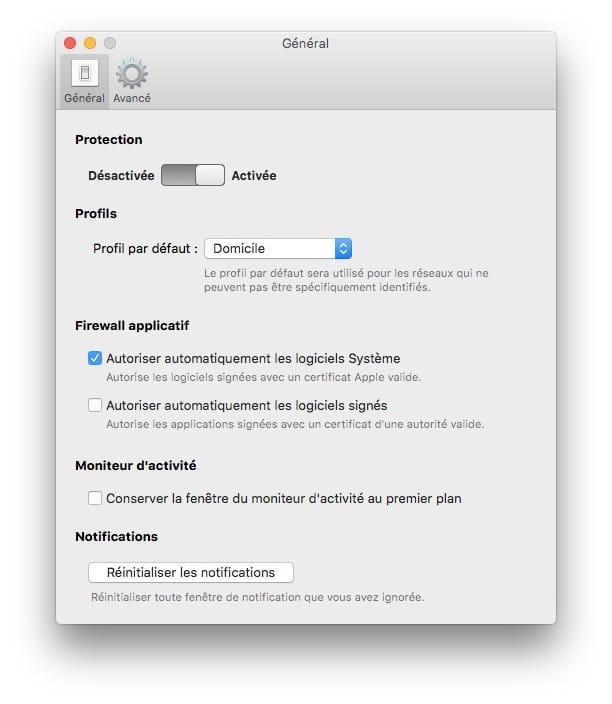 autoriser automatiquement les logiciels systeme dans le firewall mac
