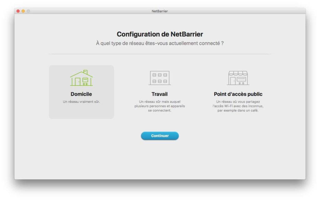 configuration firewall mac Netbarrier