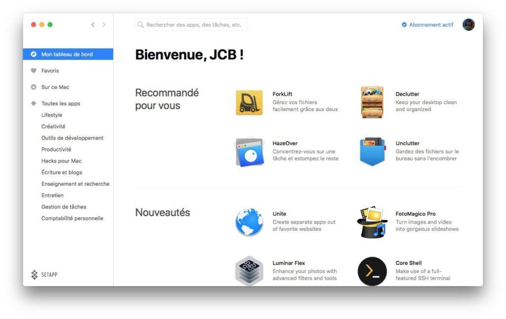 setapps mac mise a jour automatique des logiciels