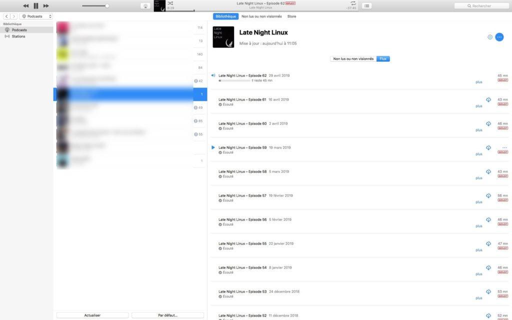 ecouter podcast sur mac et iphone
