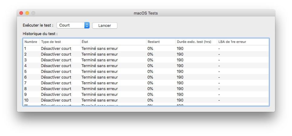 auto tests ssd mac