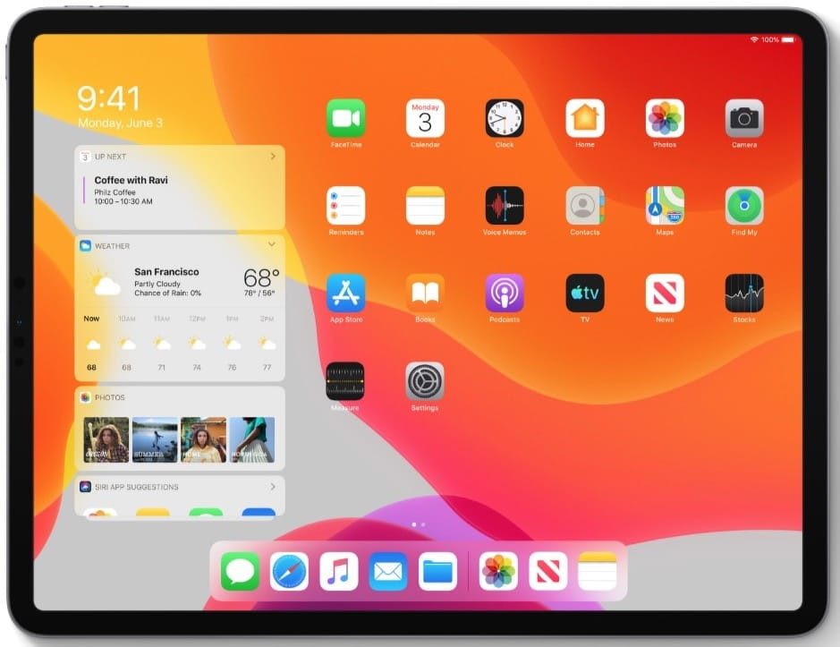iPadOS 13 pour iPad iPad Pro iPad mini seulement