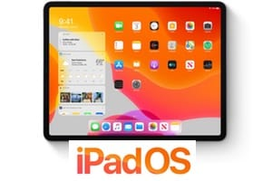 ipadOS 13 liste iPad et iPad pro compatibles