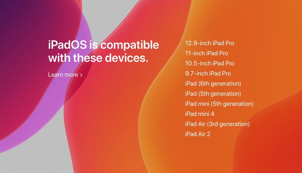 iPadOS 13 configuration ipad ipad pro necessaire