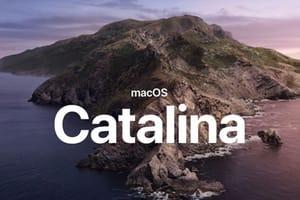 macos catalina 10.15 liste des mac compatibles
