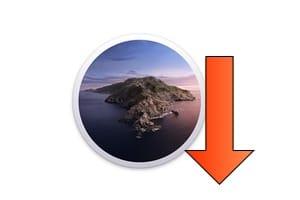 Downgrade macOS Catalina tutoriel