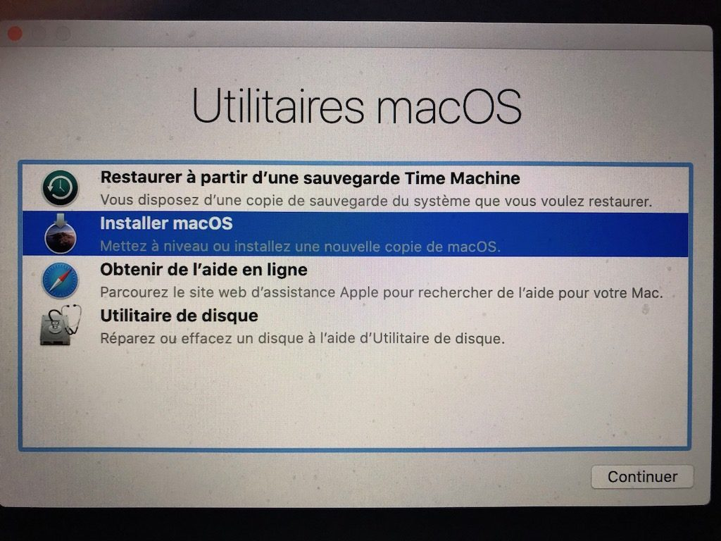 clean install macos catalina 10.15