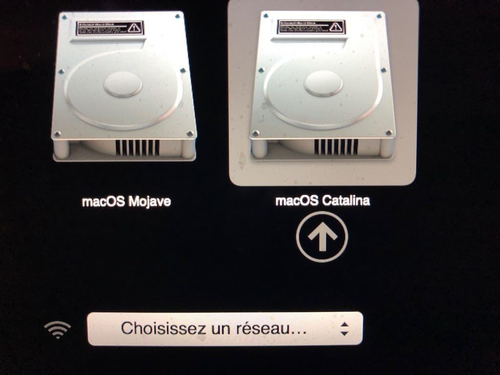 dual boot mojave cataline touche alt