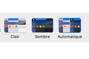 dark mode automatique de macOS Catalina mode demploi