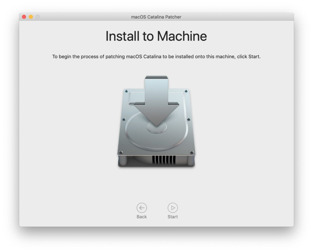 install macos catalina sur mac non compatibles officiellement