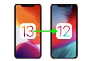 Downgrade iOS 13 vers iOS 12 tutoriel complet