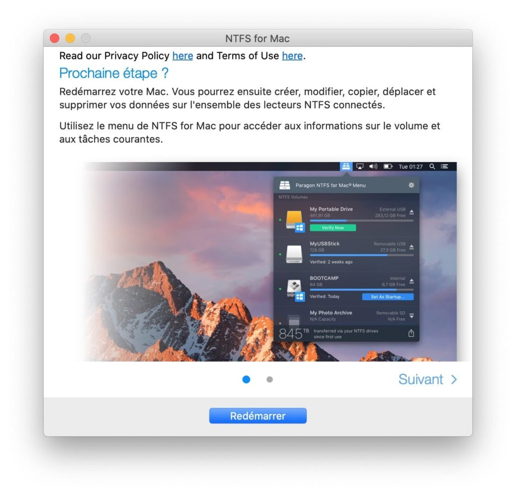 NTFS macOS Catalina drivers
