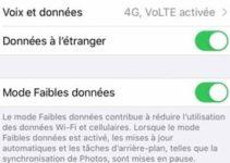 Activer le Mode Faibles données sur iPhone, iPad, iPod touch (iOS13 / iPadOS13)