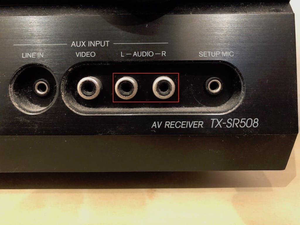 Connecter son iPhone a un ampli avec cable jack to rca