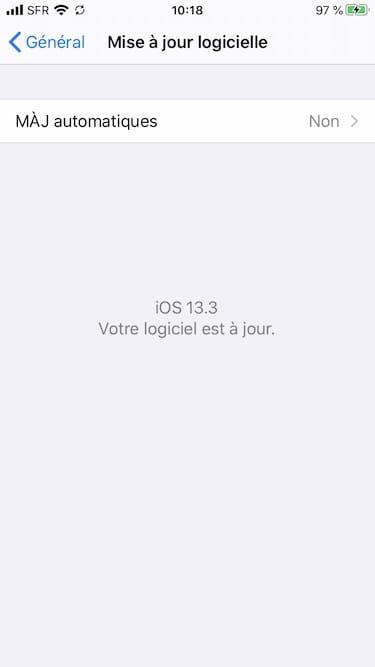 iOS 13.3 iPadOS 13.3 comment mettre a jour