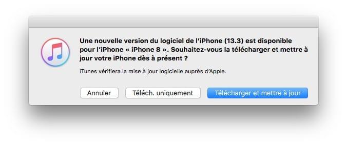 iOS 13.3 iPadOS 13.3 nouvelle version