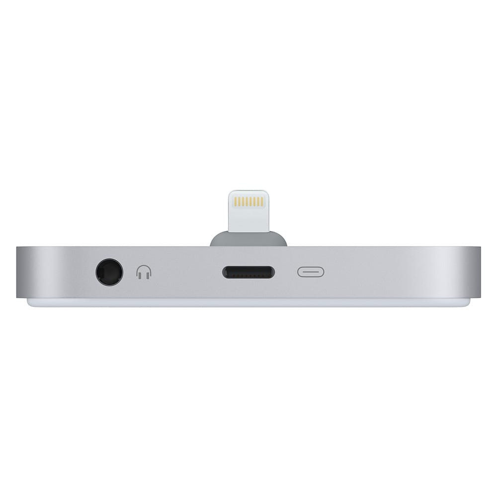 iPhone Lightning Dock avec prise casque