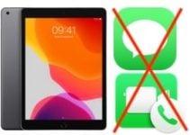 Désactiver Messages et FaceTime sur iPad (2 étapes)