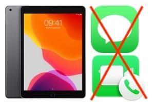 Désactiver Messages et FaceTime sur iPad