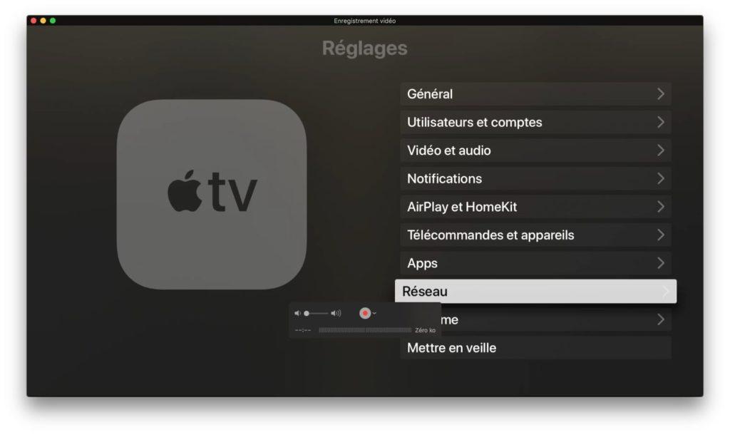 afficher apple tv sur mac