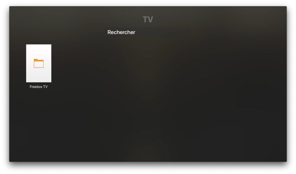 freebox tv apple tv 4k