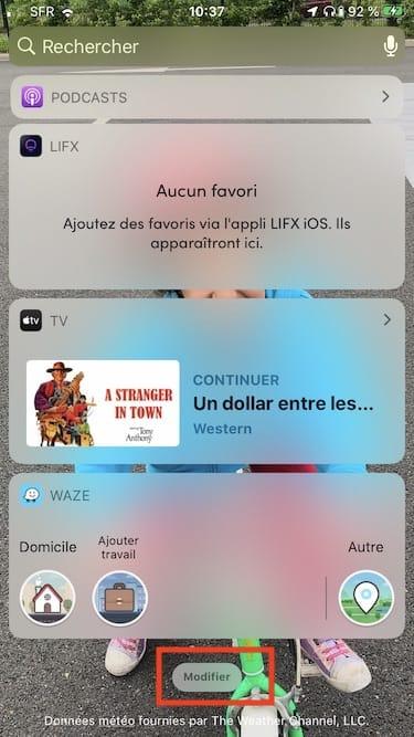 Afficher autonomie du casque Bluetooth sur iPhone